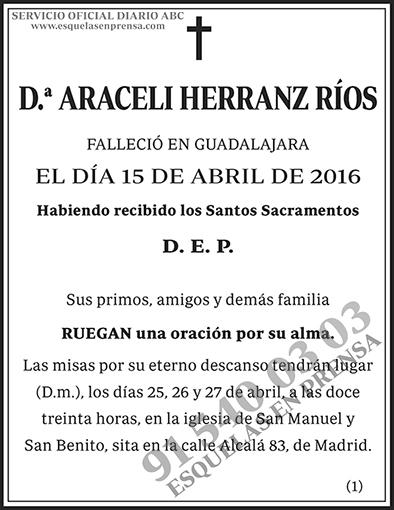 Araceli Herranz Ríos